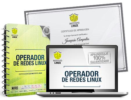 Curso OPERADOR DE REDES LINUX